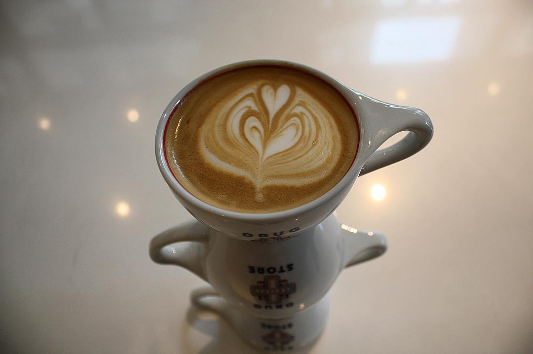 Latte from Drug Store Coffee