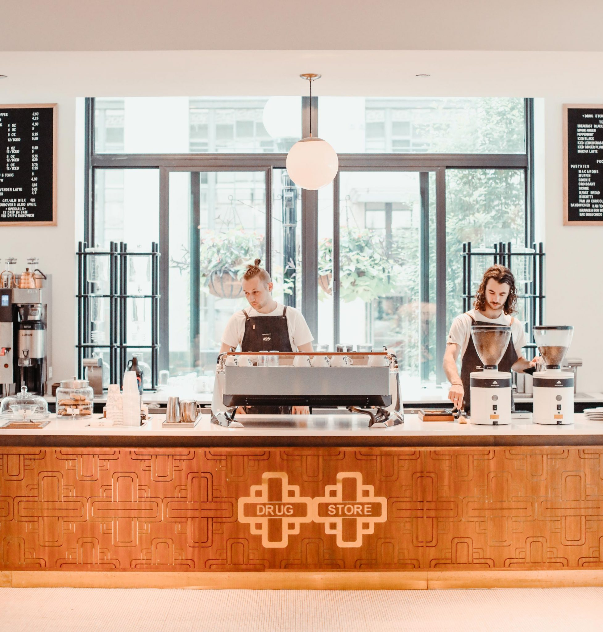Barista's at Drug Store Coffee